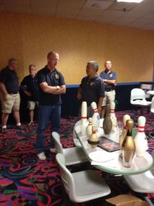 Ledyard Rotary Club's held their Annual Bowl-A-Thon at Spare Time, Groton Ct.